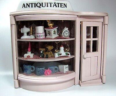 1:12 REUTTER Miniatur - ANTIQUITÄTENLADEN - Wandbild - Puppenstube - Laden
