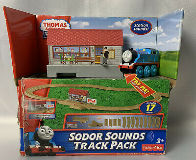 Thomas & Friends Sodor Sounds Track Pack Trackmaster Fisher-Price Gift Toy Train
