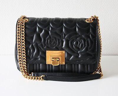 Leder Flap Shoulder Bag (MICHAEL KORS TASCHE/BAG VIVIANNE MD Shoulder Flap black schwarz)
