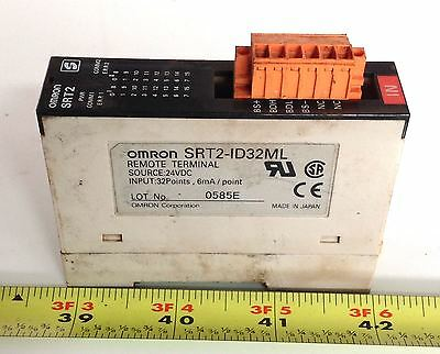 Omron 24vdc 32 Point Terminal Srt2-id32ml