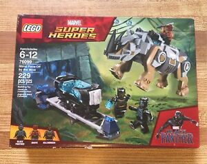LEGO Black Panther #76099 Rhino Face -Off - **NEW