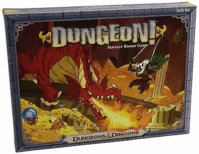 Dungeons and Dragons Dungeon! Fantasy Board Game ()