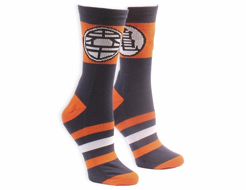 Dragon Ball Z Kame Symbol With Stripes Socks  c89562f29