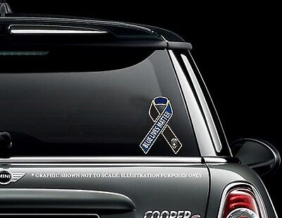 "Blue Lives Matter 8"" Car Truck decal sticker Support Law Enforcement"