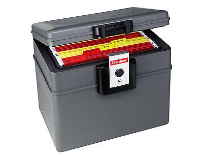 First Alert 2037FE Dokumentenbox 17,6 Liter feuerfeste wasserdichte Kassette NEU online kaufen