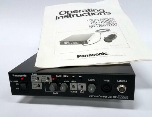 NEW Panasonic GP-US522 Endoscope 3CCD Color Camera Control Unit with manual