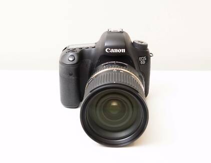 Canon EOS 6D DSLR Camera with Tamron 24-70mm F2.8 VC USD Lens