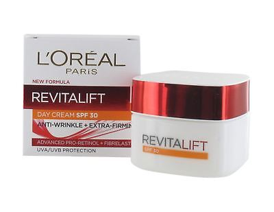 L'Oreal Paris Revitalift Day Cream SPF30 50ml - Anti-wrinkle + Extra Firming
