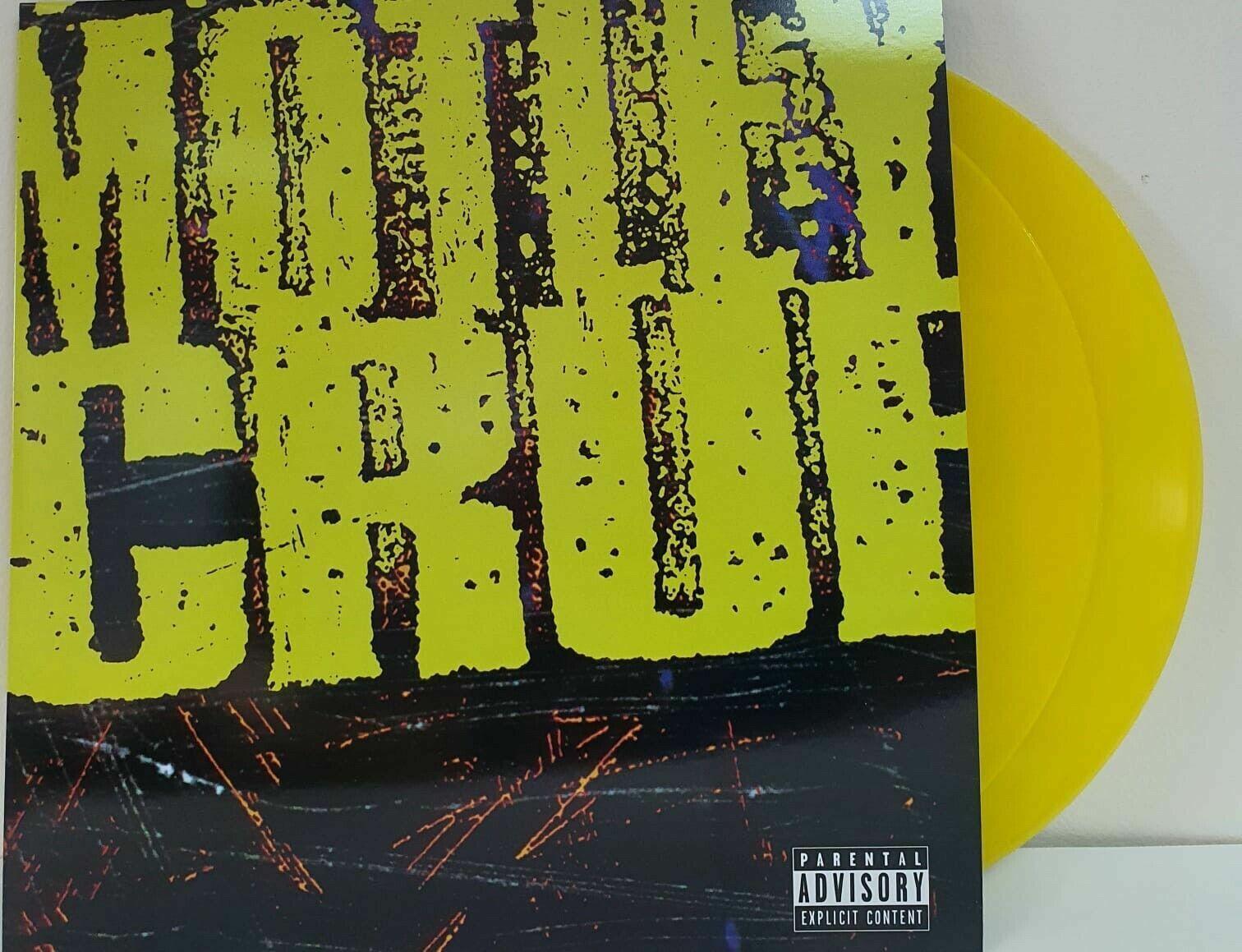 M tley Cr e Motley Crue 2LPS S/T Colored Vinyl LP NEW CREASE IN COVER  - $39.99