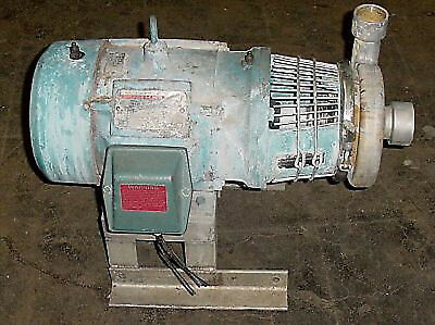 Tri-flo Centrifugal Washdown Pump 5 Hp Stainless-used
