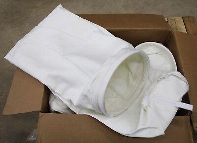 12 Pcs Murphy Rodgers Dust Collector Bags 19-34 X 74 Long 12 Oz Pe Felt
