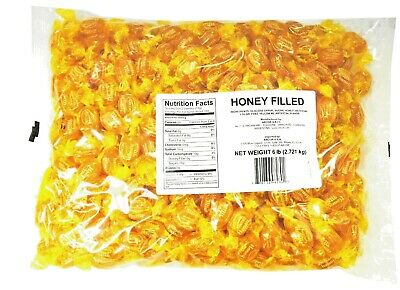 SweetGourmet Arcor Honey Filled Hard Candy-6Lb (Factory Sealed) FREE SHIPPING! - Arcor Candy