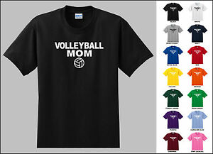Volleyball-Mom-Volleyball-Sports-T-shirt