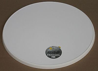 Tischplatte, 70 cm rund, weiß, Sevelit, wetterfest, Gastronomie, ähnl. Werzalit