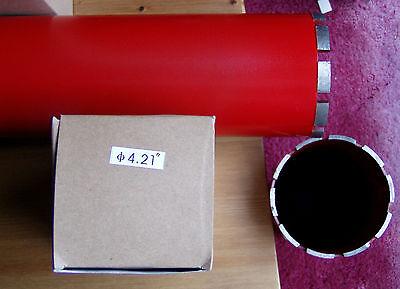 4.21 Core Bore Diamond Concrete Core Drill Bit 10 Drill Depth