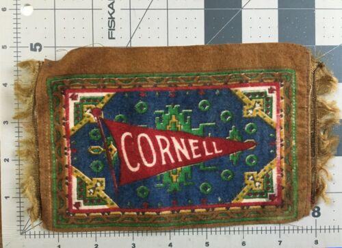 Vintage Cornell Tobacco Flag  felt
