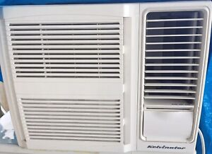 Kelvinator window / wall air conditioner 1.7kw cool about 1 year old!!