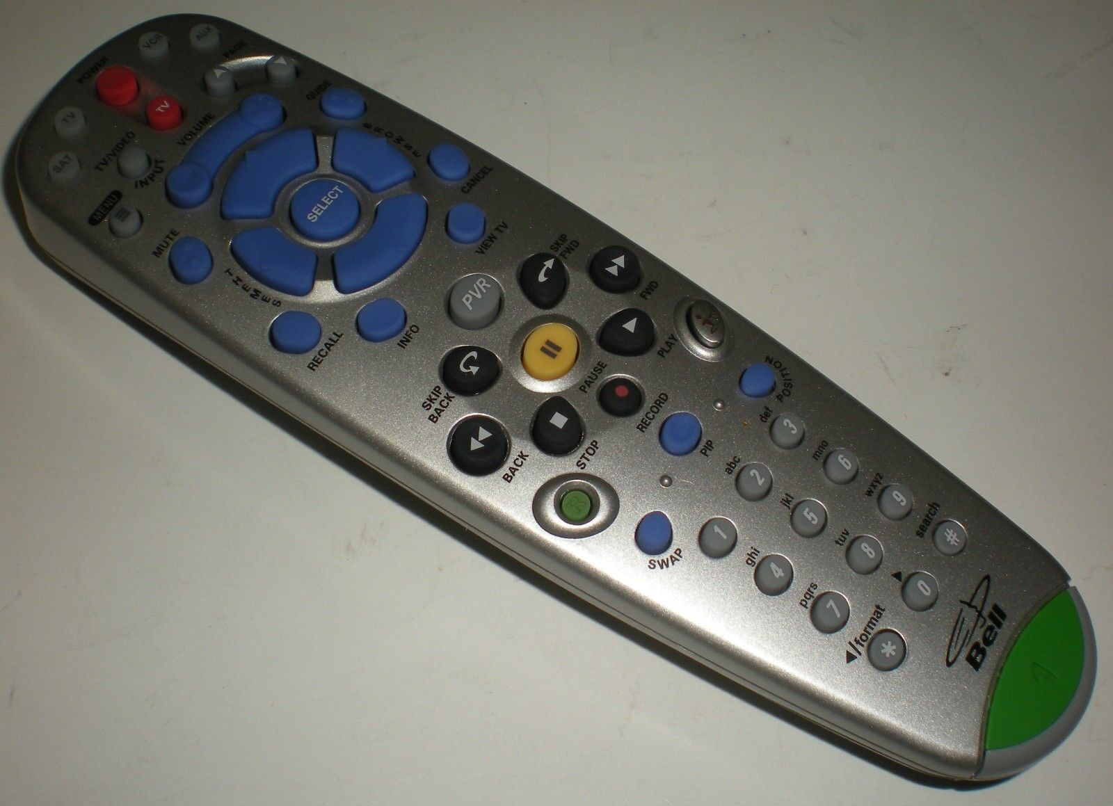 REMOTE BELL TV CONTROL INFRA-RED 137177 NEW IN PLASTIC