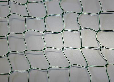 Ballnetz Höhe 3,00 m Länge 35,00 m grün Ballfangnetz Fangnetz Fußballnetz Netz