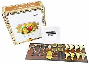 3-string Cigar Box Guitar Kit - everything you need except the neck!