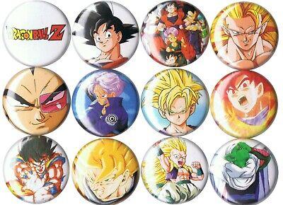 Dragon Ball Z 12 pins buttons anime Goku Gohan Trunks Piccolo Vegeta ](Piccolo Dbz)
