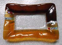 Portacenere Rettangolare - Vetro Murano - Cm.11,5 X 16,5 -  - ebay.it