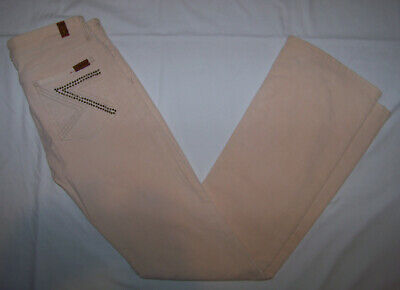 Women's 7 For All Mankind Corduroy Straight Leg Jeans Pants Size 28