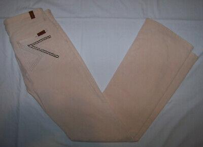 Women's 7 For All Mankind Corduroy Straight Leg Jeans Pants Size 28 7 For All Mankind Corduroys