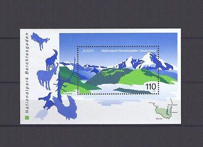 Germany  Europa Cept 1999  National Parks S S  Mnh