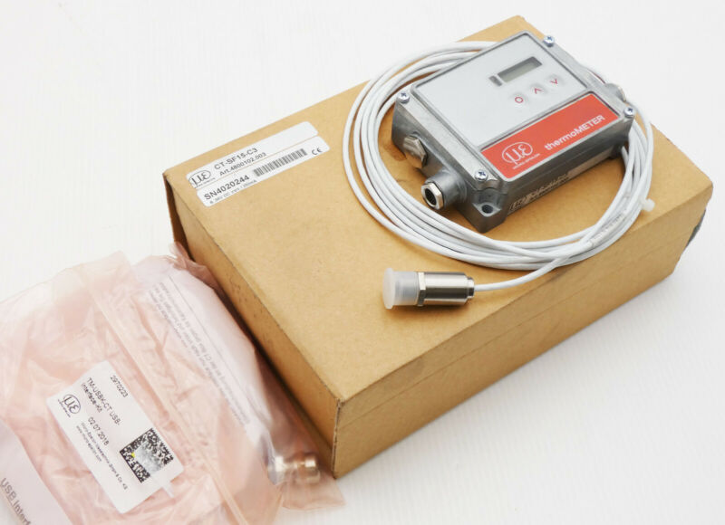 Micro-Epsilon thermoMETER CT-SF15-C3 4800102.003 Infrarot-Sensor -unused/OVP-