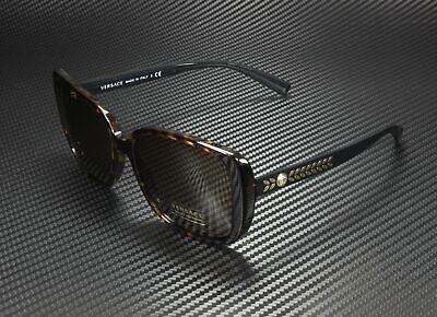 VERSACE VE4357 108 73 Havana Brown 56 mm Women's Sunglasses