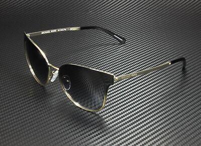 MICHAEL KORS MK1022 118111 Tia Gold-Tone Grey 54 mm Women's Sunglasses