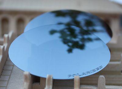 ACOMPATIBLE Polarized Lenses Replacement for-Oakley Eye Jacket 1.0-Silver (Eye Jacket Lenses)
