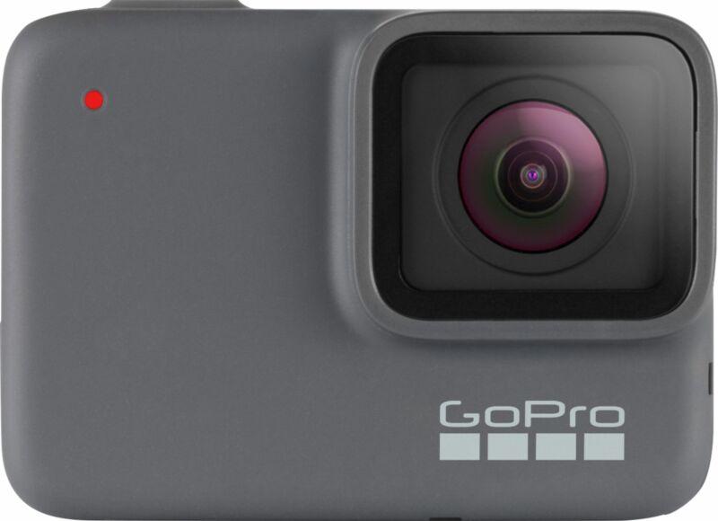 GoPro - HERO7 4K Waterproof Action Camera - Silver