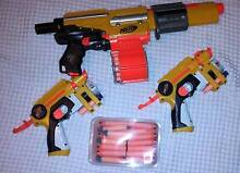 Nerf Guns:- Alpha Trooper CS-18, 2 N-Strike Night Finders & darts Rutherford Maitland Area Preview