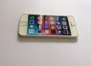 iPhone 5S 16gb Silver Unlocked