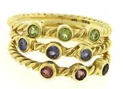 Gold Peridot Ring
