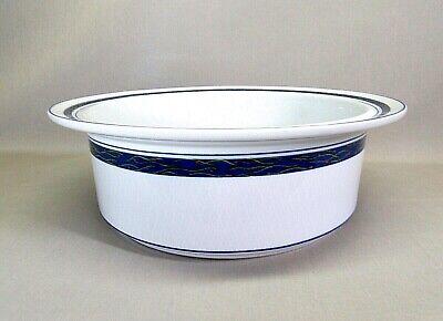 DANSK .. NEW SCANDIA .. PORCELAIN 9 INCH ROUND 1 1/2 QUART SERVING/BAKING BOWL 9 Inch Round Porcelain