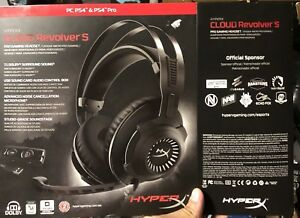 Hyper X Cloud Revolver Pro S 7.1 Dolby gaming headphones