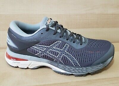 Women's ASICS Gel KAYANO 25 Gray size 8.5 Running Shoes Athletic Sneakers