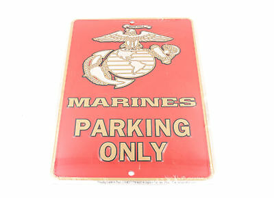 United States US Marines Parking Only 8 x 12 Automotive Car Garage Man Cave Sign
