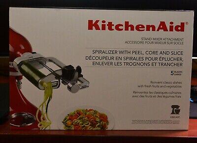 KitchenAid KSM1APC 5 Blade Stand Mixer Attachment Spiralizer w/ Peel/Core/Slice