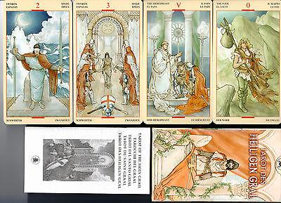 Tarot des heiligen Gral -  rar selten Sammler NEU OVP