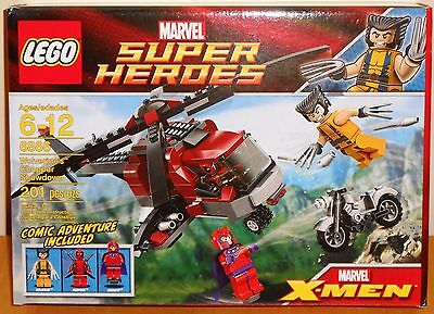 LEGO Marvel 6866 Wolverine's Chopper Showdown NEW with Deadpool