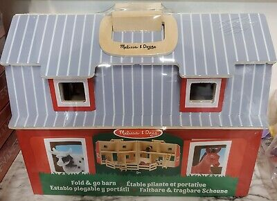 Melissa & Doug Fold and Go 2 Stories Barn for the Kids Factory Sealed