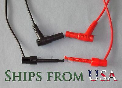 Top Quality Replacement Test Leads Whook For Fluke Other Multimeters 40 Long