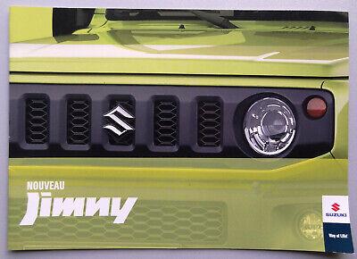 V15107 SUZUKI JIMNY - CATALOGUE - 09/18 - A4 - FR FR