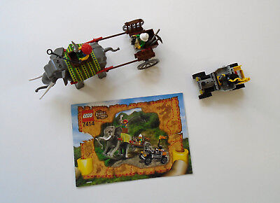 Scarce Orient Expedition LEGO 7414 (Complete Set from 2002 )