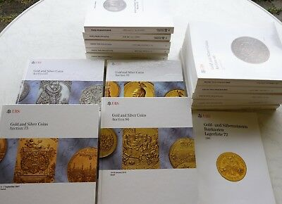 14 x Katalog UBS Gold-+ Silbermünzen 1997-2010 Gold and Silver Coins Numismatik