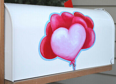 Valentine's Day Mailbox (Mailbox Magnet Partial Cover Door Plain Valentine's Day Balloon Bouquet Car)